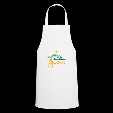 ++ Better in the Mountains ++ Mountaineer Gift - Cooking Apron