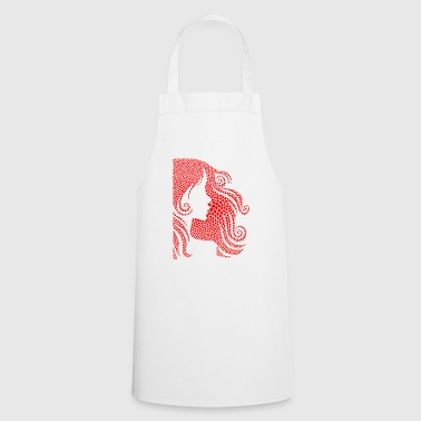 Female / Woman / Hairstyle - Cooking Apron
