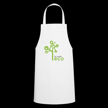 Eco System - Organic, Eco Tree - be smart be green - Cooking Apron