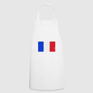 French flag France tricolor - Cooking Apron