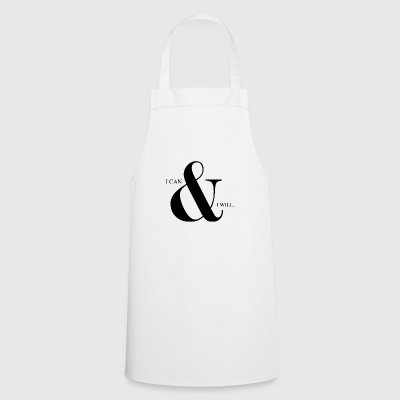 I can & I will | Animal Fashion - Cooking Apron