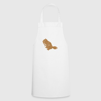 Dam It! Damn It Beaver Pun Animal Wordplay Gift - Grembiule da cucina