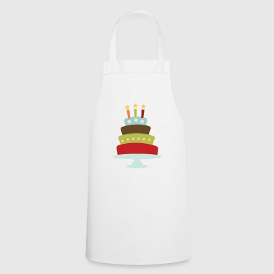 birthday cake - Cooking Apron