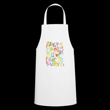 Monster alphabet - Cooking Apron