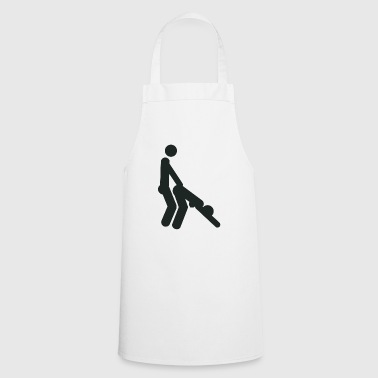 Doggystyle sex position (shotgun) - Cooking Apron
