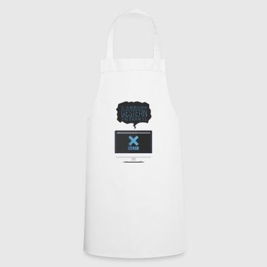Computer gift saying computer science party nerd - Cooking Apron