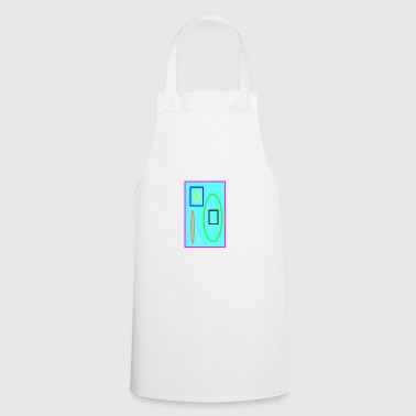 Colorful graphic - Cooking Apron