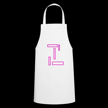 Pink rectangles - Cooking Apron