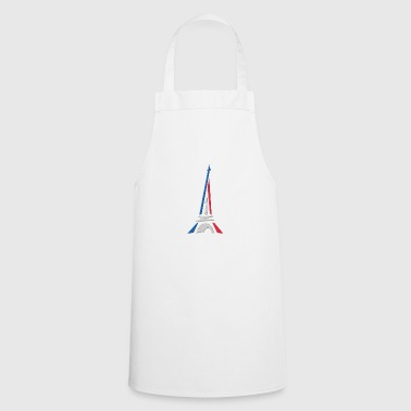 Paris and the Effeil Tower - Cooking Apron