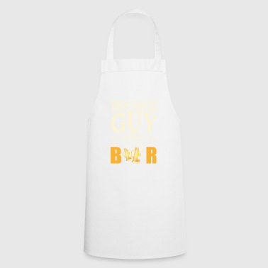 18th Birthday Gift The guy needs a beer - Cooking Apron