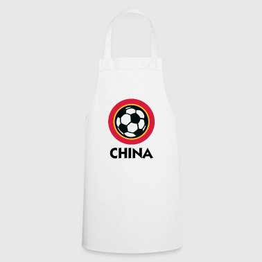 Football Crest Of China - Cooking Apron