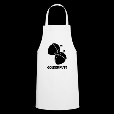 goldenuts blak - Cooking Apron