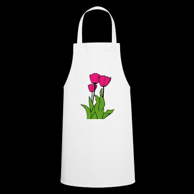 tulips - Cooking Apron