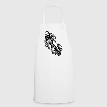 Scooter 04_black white - Cooking Apron