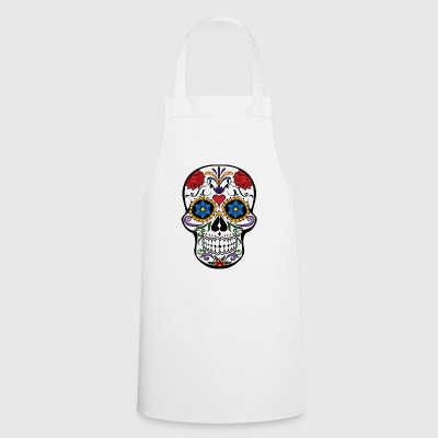 Colorful skull - Cooking Apron