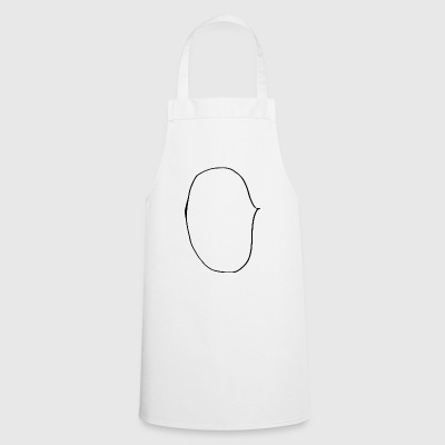Empty speech bubble for inserting your own text - Cooking Apron
