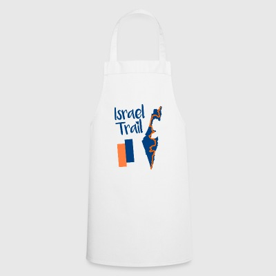 Israel Trail Map Motif - Cooking Apron