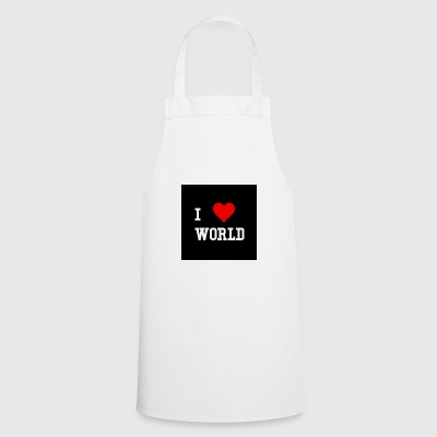 I love the world - Cooking Apron