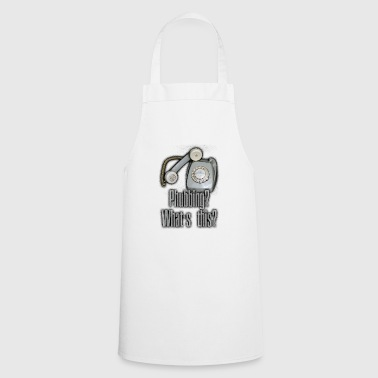 Old Dial Disc Phone Phubbing? - Cooking Apron
