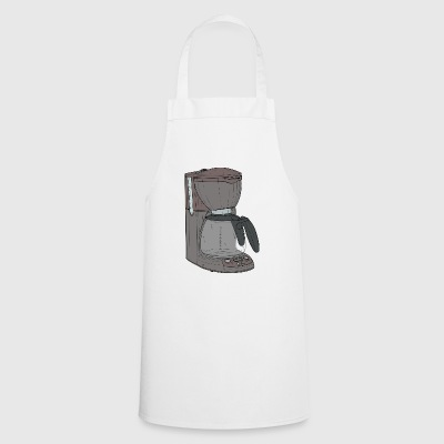cafe machine - Cooking Apron