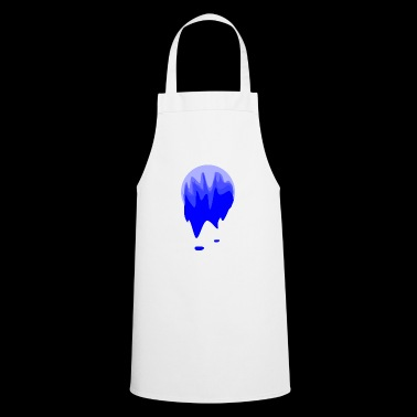 Blue toned paint ball - Cooking Apron