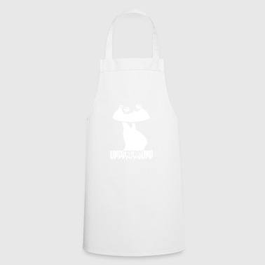 underground wite - Cooking Apron