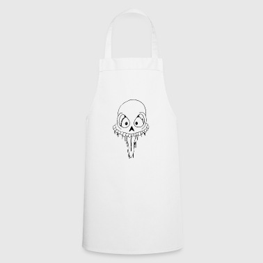 new skull - Cooking Apron