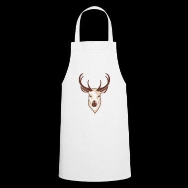 Deer head - Cooking Apron