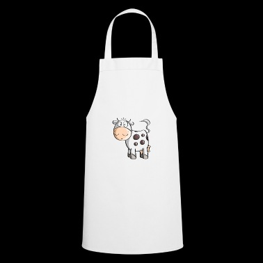 Little Mooo Cow - Cows - Comic - Cooking Apron