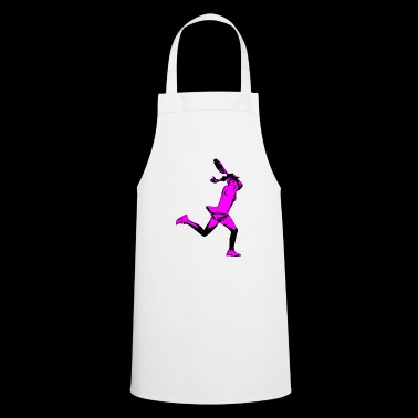 Tennis player tennis tennis court - Cooking Apron