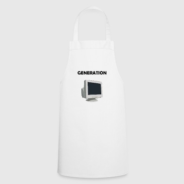 Generation Computer PC Baby boomer X gift idea - Cooking Apron