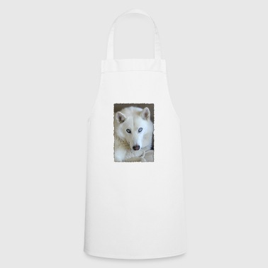 Husky in the frame - Cooking Apron