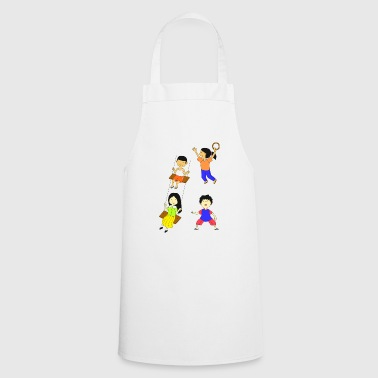 Children playing - Cooking Apron