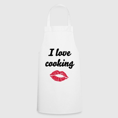 Kiss - Lips - Cooking Apron