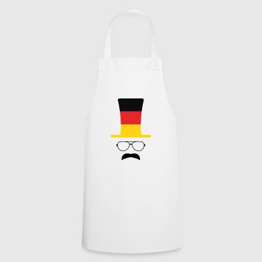 Germania flag football fan pantaloni a vita bassa - Grembiule da cucina