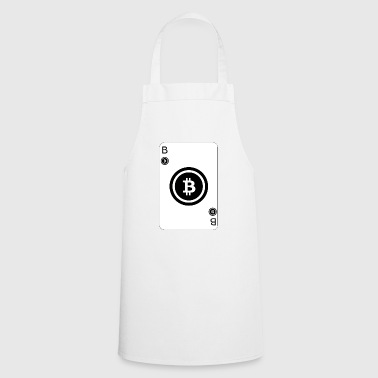 Bitcoin Playcard playing card - Cooking Apron