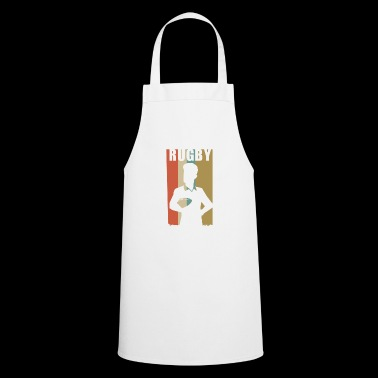 Rugby Rugby Player Vintage Rugby Gift Sport - Cooking Apron
