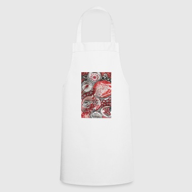 silver Rose - Cooking Apron