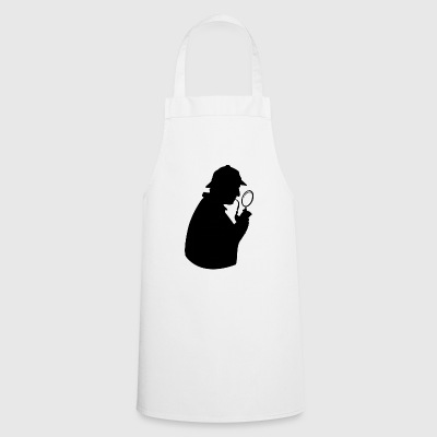 Detective in full investigation - Cooking Apron