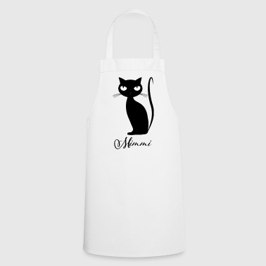 Chic cat Mimmi glamorous for every occasion - Cooking Apron