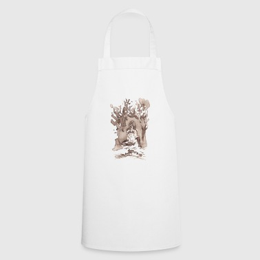 Seer in thorn bushes - Cooking Apron