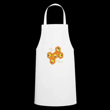 Save the bees, save the Humans - Cooking Apron
