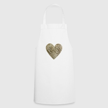 60 years - heart - Cooking Apron