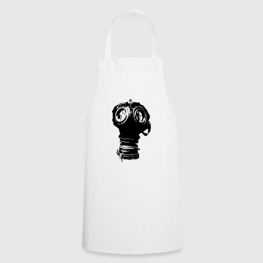 gas mask - Cooking Apron