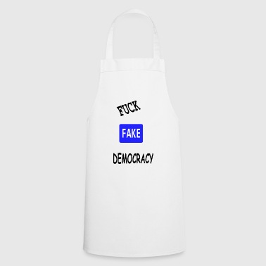 fake democracy - Cooking Apron