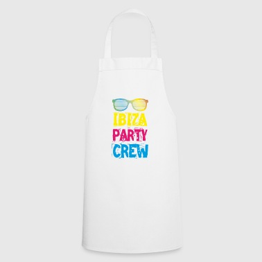 IBIZA Party Crew Club Holiday Fun 2018 T-Shirt - Cooking Apron