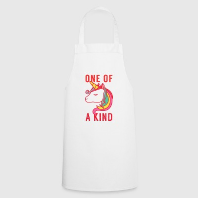 One of a kind. Unique. Magical Unicorn. Birthday - Cooking Apron