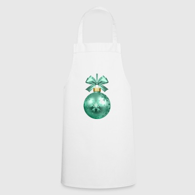 christmas winter reindeer santa claus ugly chr - Cooking Apron