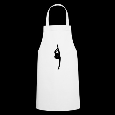 Ballet dancer silhouette - Cooking Apron