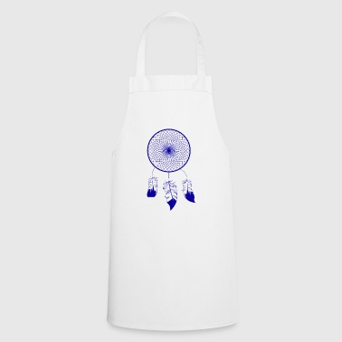 Blue Dream Catcher - Cooking Apron